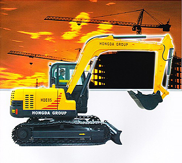 Small-Scale excavator